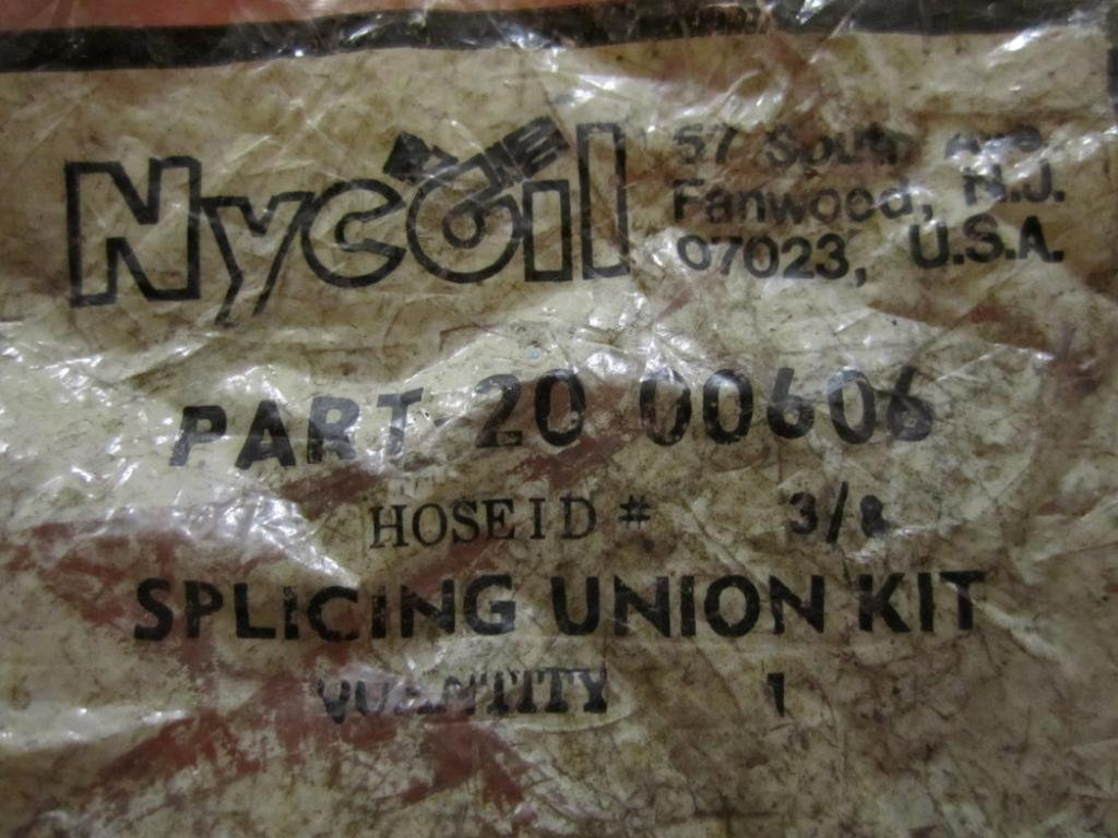Nycoil 20 00606 Splicing Union Kit 3//8 Pack of 6