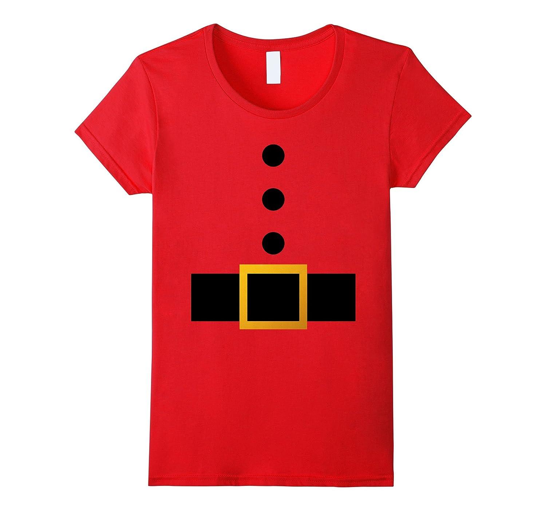 Santa Claus Suit Costume Christmas Shirt Stocking Stuffer