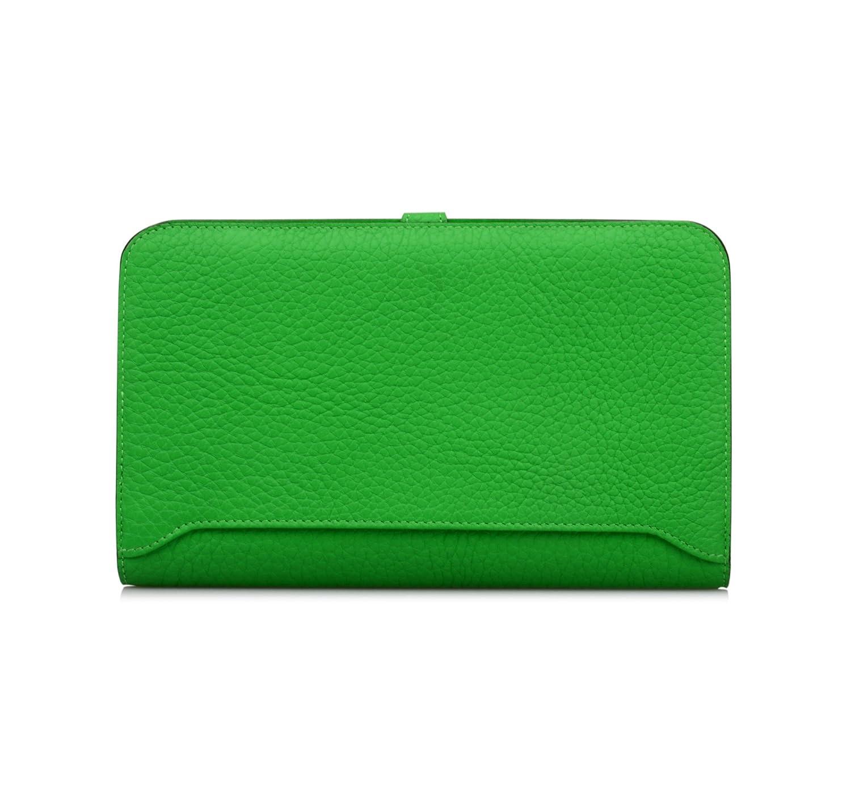 a9ca5d576e9a Anifeel Women's Genuine Leather Wallets Passport Case Purse Billfold Trifold