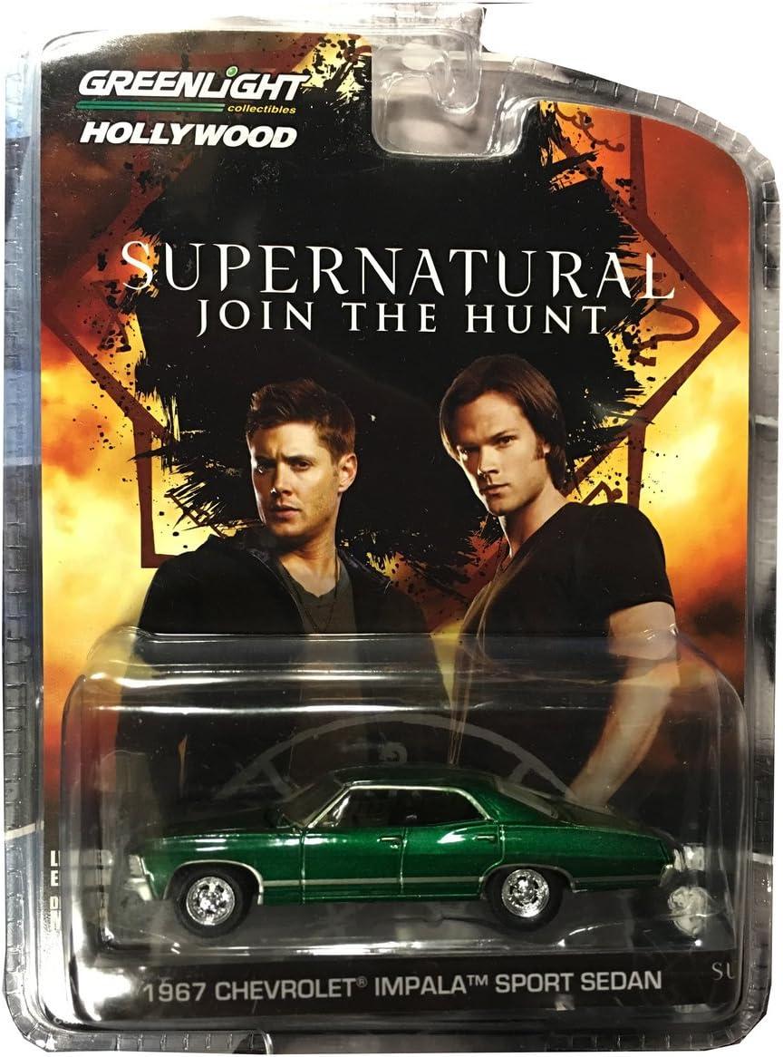 Chevrolet Impala sport sedan Supernatural 1967,1:64 Green Machine