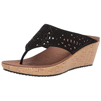 Skechers Women's Thong Wedge Sandal | Sandals