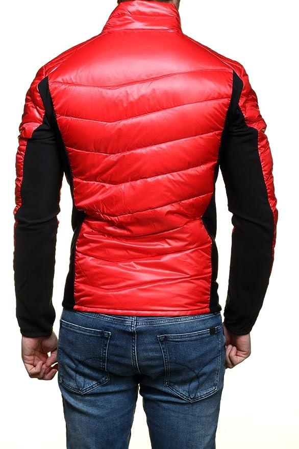 EA7 - Emporio Armani Homme - Doudoune légère Technic rouge 6XPB48   Amazon.fr  Vêtements et accessoires b1d1ff51c2c