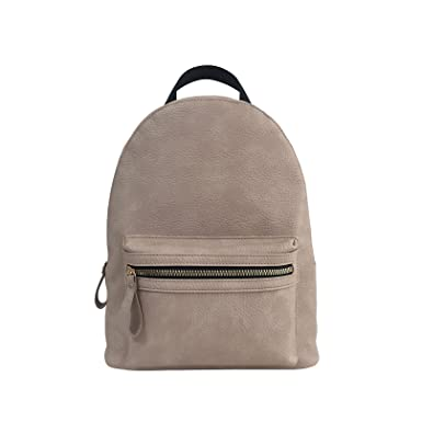 f3809c6756 ESA Women s Girls Classical Simple Design Modern and Fashion Backpack Vegan  Leather PU Casual Purse Travel