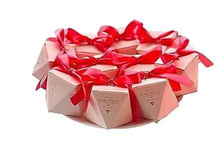 Soul Ray Caja de Dulces con Forma de Diamante para Regalos ...