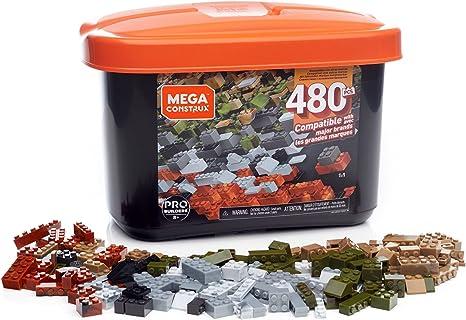 Mega Construx Caja PRO de 480 piezas y bloques de construcción para niños +8 años (Mattel GJD25) , color/modelo surtido
