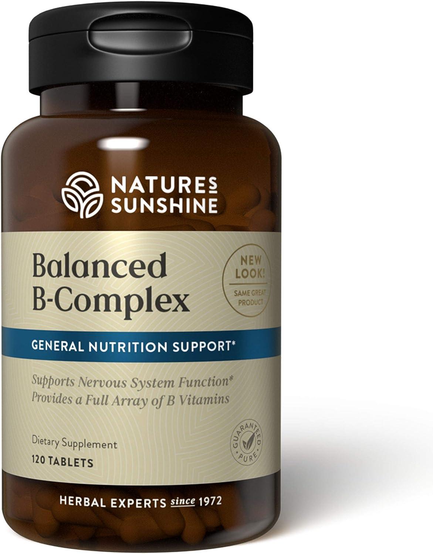 Amazon Com Nature S Sunshine Balanced B Complex 120 Tablets Multiple Vitamin Mineral Combinations Health Personal Care