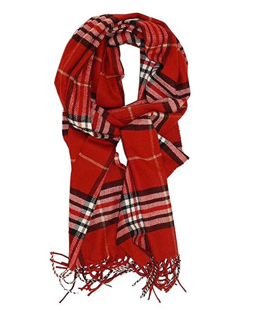 Plaid Scarf Dreamslink Classic Cashmere Feel Tartan Blanket Winter Scarf Shawl Wrap