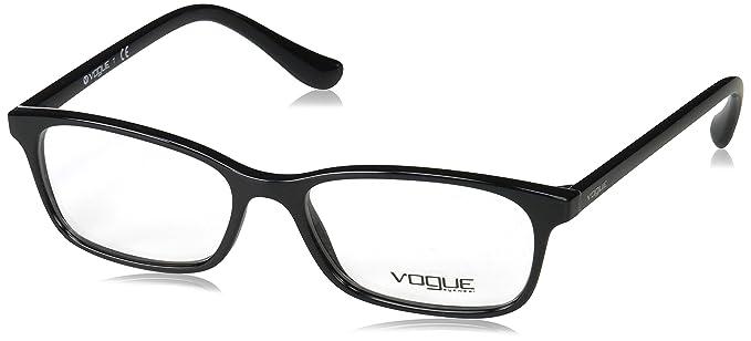 bb1c1dcfb3 Vogue VO5053 Eyeglass Frames W44-51 - Black VO5053-W44-51 at Amazon ...