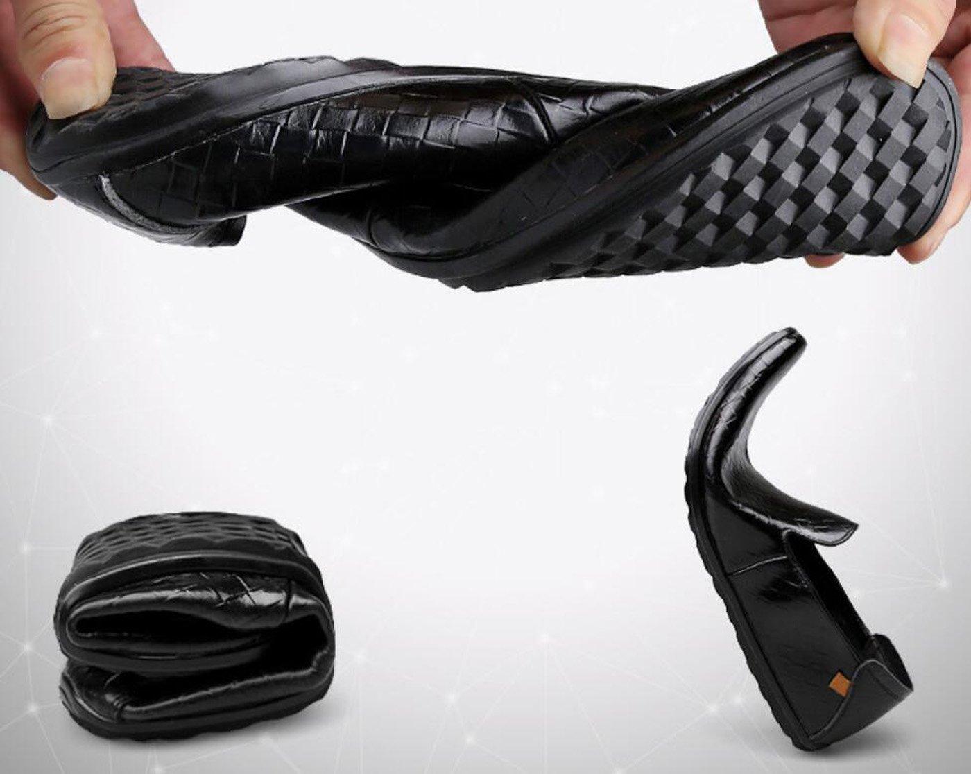 GDXH Treibende Auto der Männer schlüpfen auf zufällige Lederne Müßiggänger-Schuhe 2018 für Geschäfts-Sommer-Frühling 2018 Müßiggänger-Schuhe Formale Schuhe e4e1e2