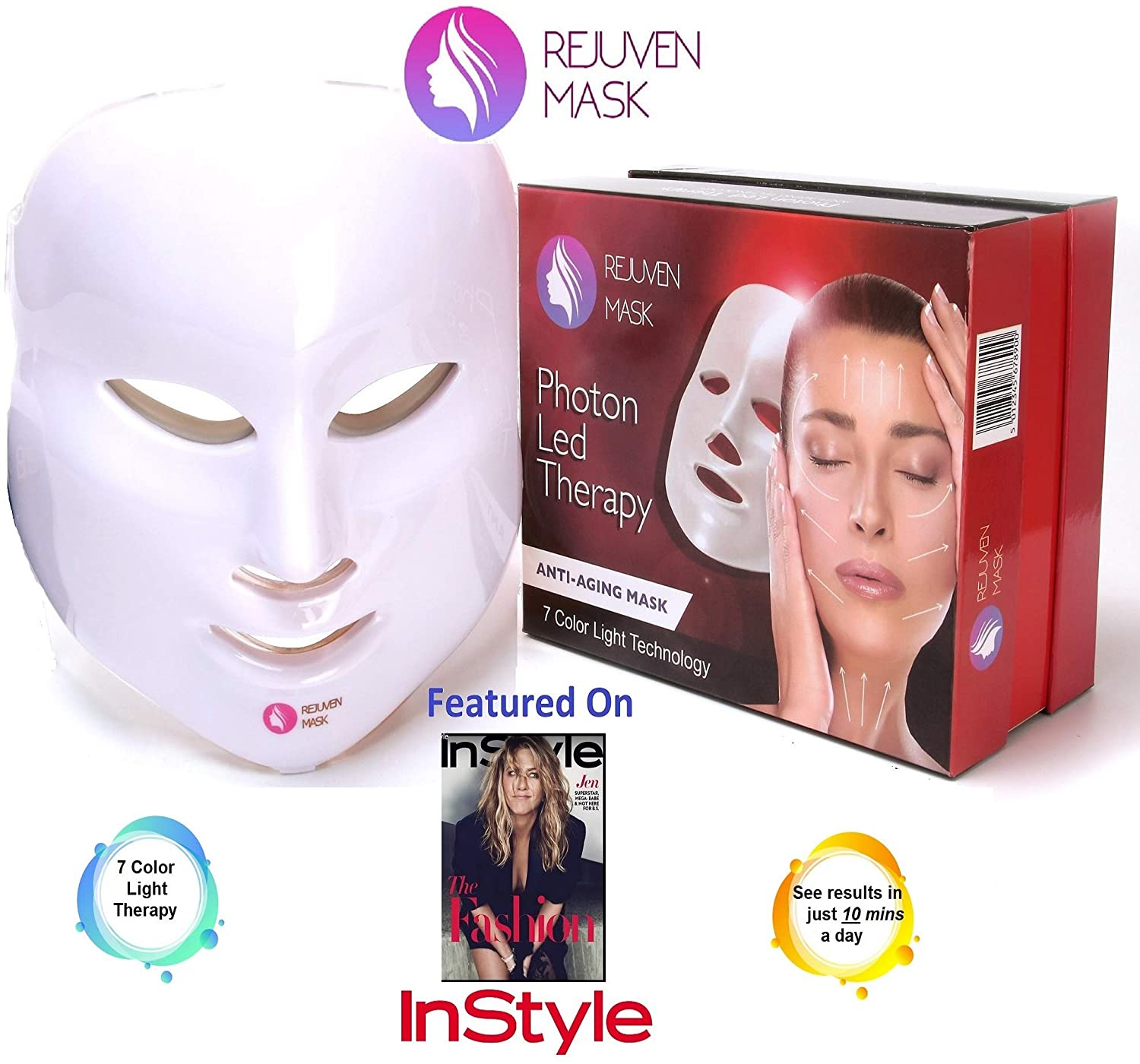 Topic simply led light therapy for skin