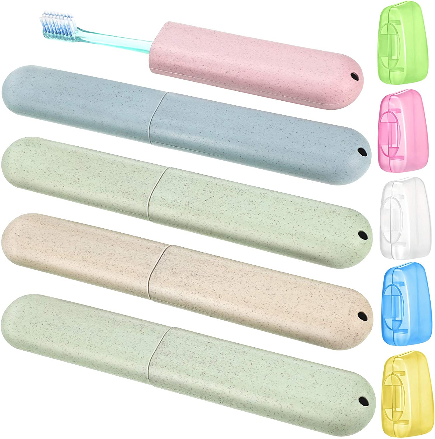 Toothbrush Holders Protective Cover Camping Travel *DEAL* LOT OF 10
