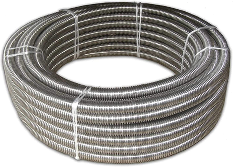 1.4404 tubo corrugato in acciaio inossidabile personalizzabile