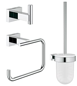 Essentials Cube Guest Restroom Set 3-In-1