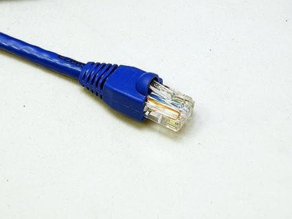 Amazon.com: RiteAV - Cat6 Network Ethernet Cable - Blue - 100ft ...