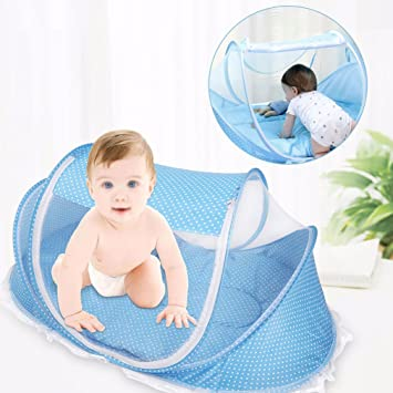 Bersun Travel Crib Baby Tent Baby Bed Instant Pop Up Portable Baby Travel & Amazon.com : Bersun Travel Crib Baby Tent Baby Bed Instant Pop ...