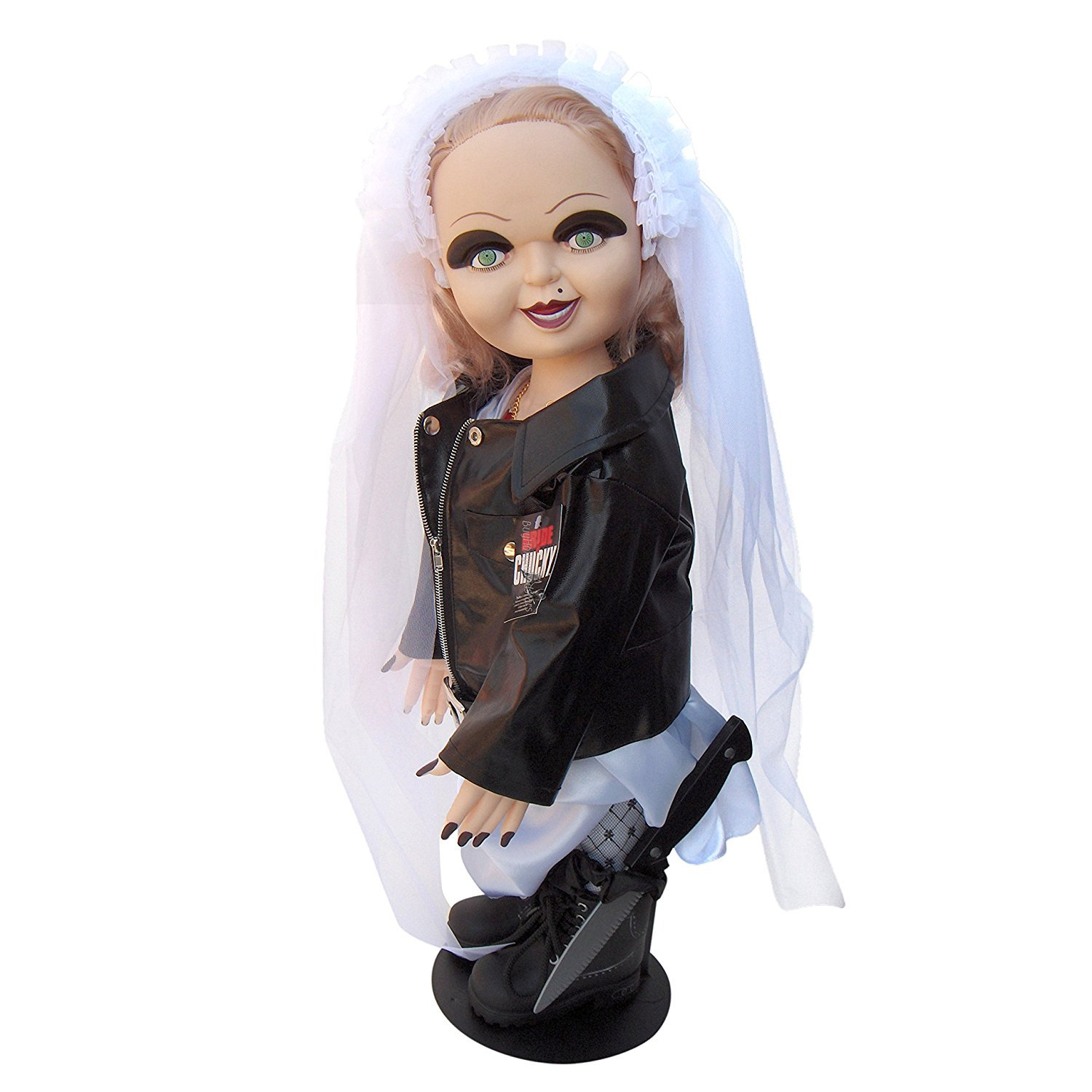 Bride of Chucky 26'' Tiffany Plush Doll In Wedding Dress & Knife
