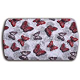 Butterfly Anti-Fatigue Comfort Kitchen Floor Mat, Non-Toxic, Highest Quality Material, Waterproof, 22 x 40 inches, Red