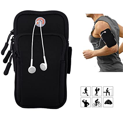 Mobile Phone Accessories Pouch Fitness Jogging Wristband Phone Holder Running Bag Sport Gym Strap Durable Cycling Hiking Case Universal Products Hot Sale Cellphones & Telecommunications