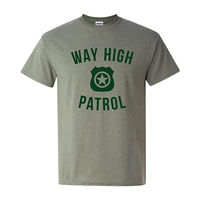 ac33ccf8 UGP Campus Apparel Way High Patrol - Funny Highway Movie Quote T Shirt -  Small -