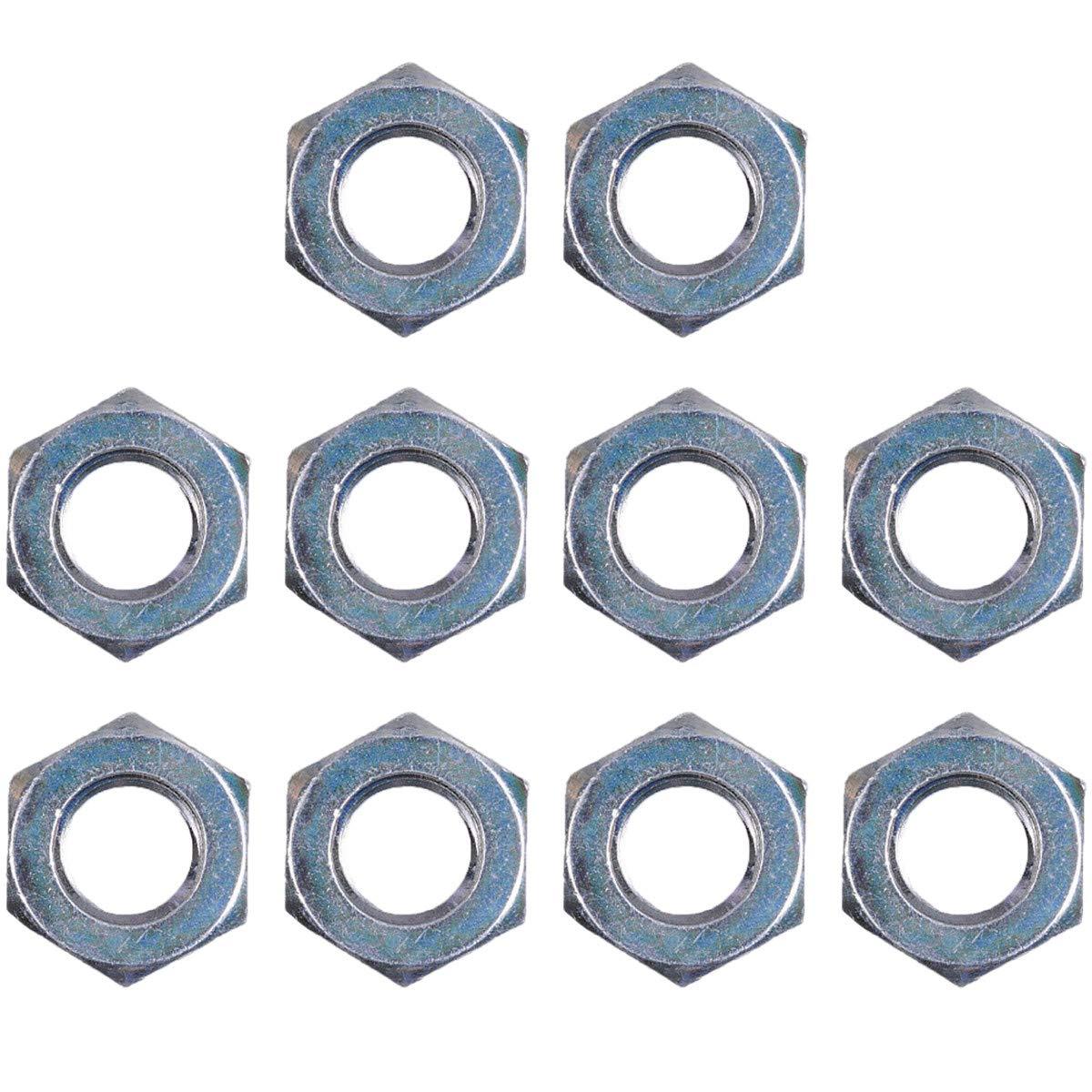 10 Pack Genuine Echo/Shindaiwa 90051300010 Nut 10X1.25 LH Fits PE-200 PE-225 PE-230 PE-260 PE-280 PE-310 Trimmers Edgers