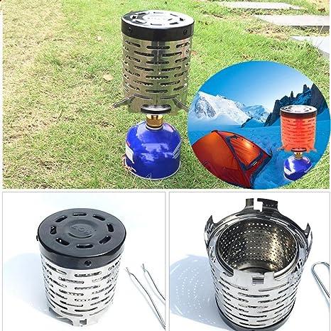 wawer portátil al aire libre cocina, infrarrojo lejano calefacción cubierta Camping Picnic estufa diámetro 11