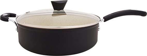 La Tierra de piedra All-in-One sauce Pan por Ozeri, con 100% de apeo y sin stone-derived antiadherente revestimiento de Alemania: Amazon.es: Hogar