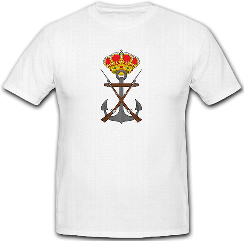Escudo infantería Marina España España Marina Interna – Camiseta # 7331: Amazon.es: Ropa y accesorios