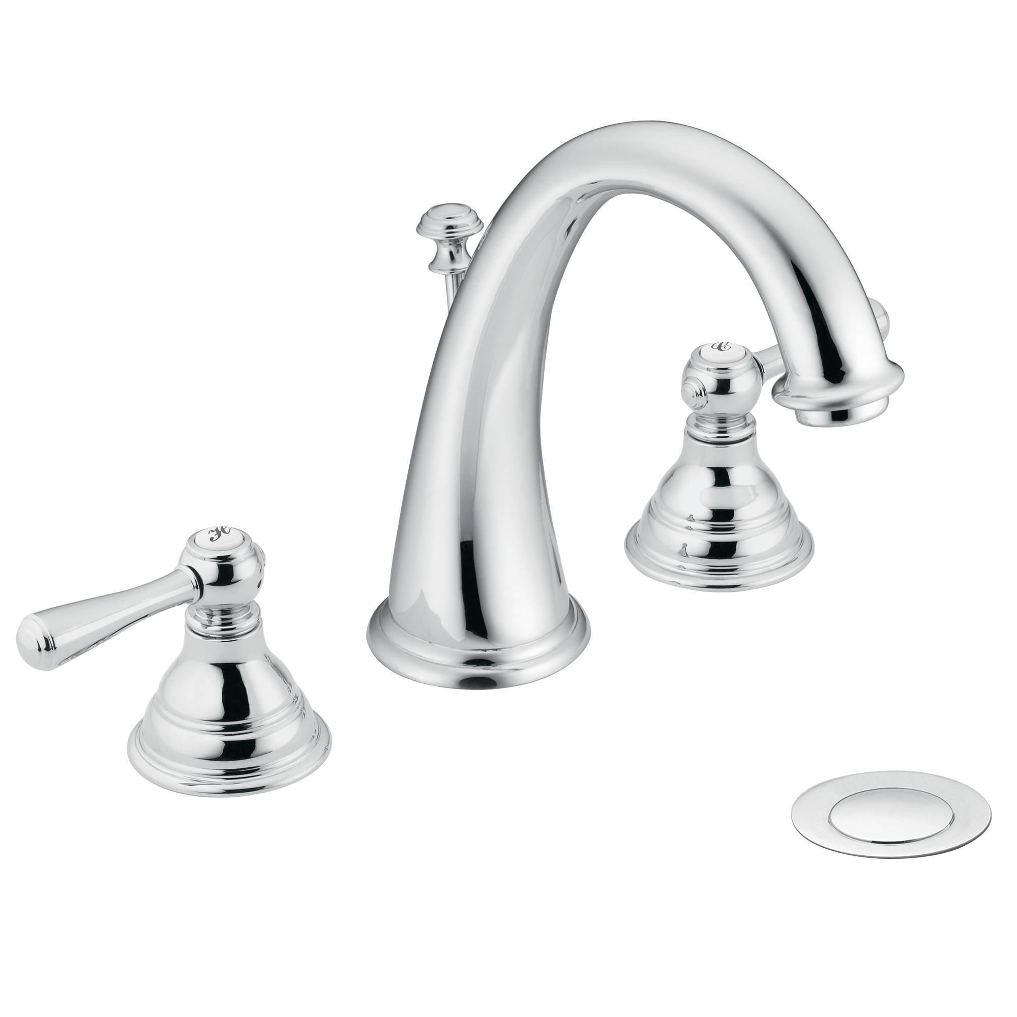 Moen T6125 Kingsley Bathroom Faucet without Valve, Chrome