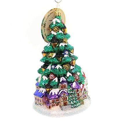 Christopher Radko Tannenbaum Glow Limited Edition Christmas Tree Ornament - Amazon.com: Christopher Radko Tannenbaum Glow Limited Edition