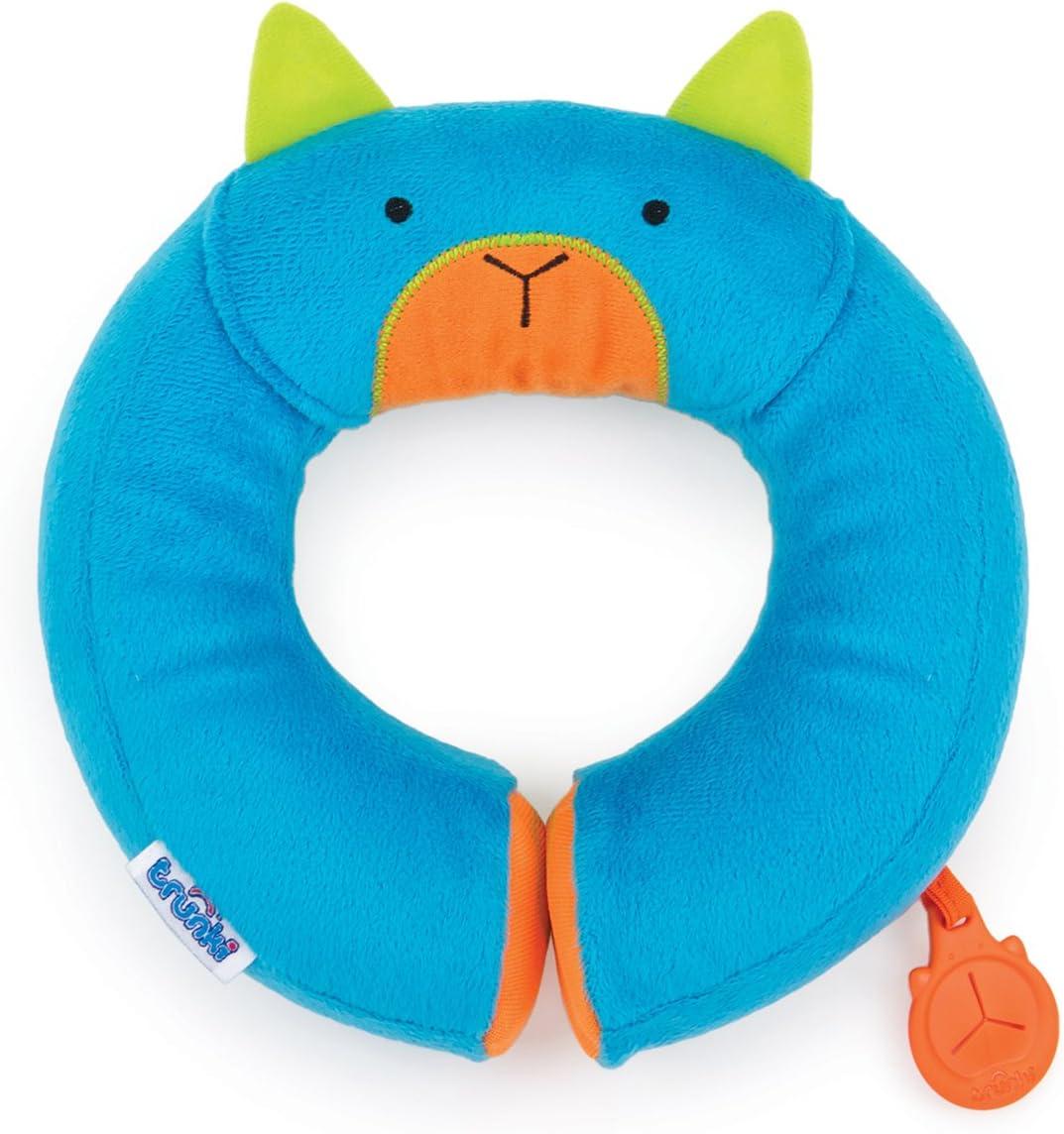 Trunki Almohadilla infantil de viaje - Yondi PEQUEÑO Bert (Azul)