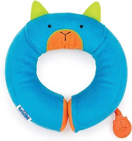 MUY CÓMODO-Almohadilla protectora de cuello y cabeza para pequeños aventureros. La almohadilla está
