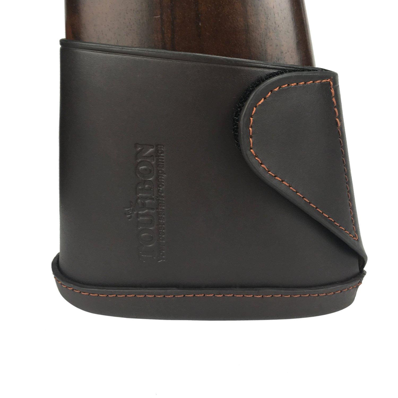 TOURBON Genuine Leather Shotgun Gun Butt Extension Recoil Pad - Small Size by TOURBON