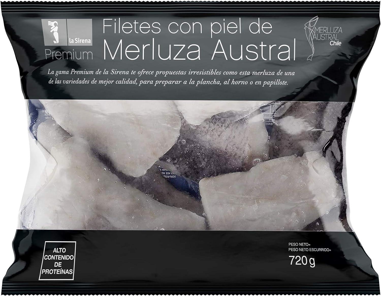 La Sirena Filetes de Merluza Austral Premium, 720g: Amazon.es ...
