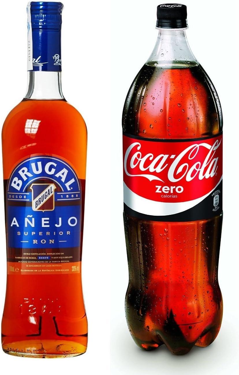 Brugal - Añejo 38% Botella 70 cl Ron Añejo + Brugal - Añejo ...