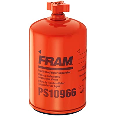 FRAM PS10966 Heavy Duty Spin-On Fuel and Water Seperator Filter with Drain: Automotive