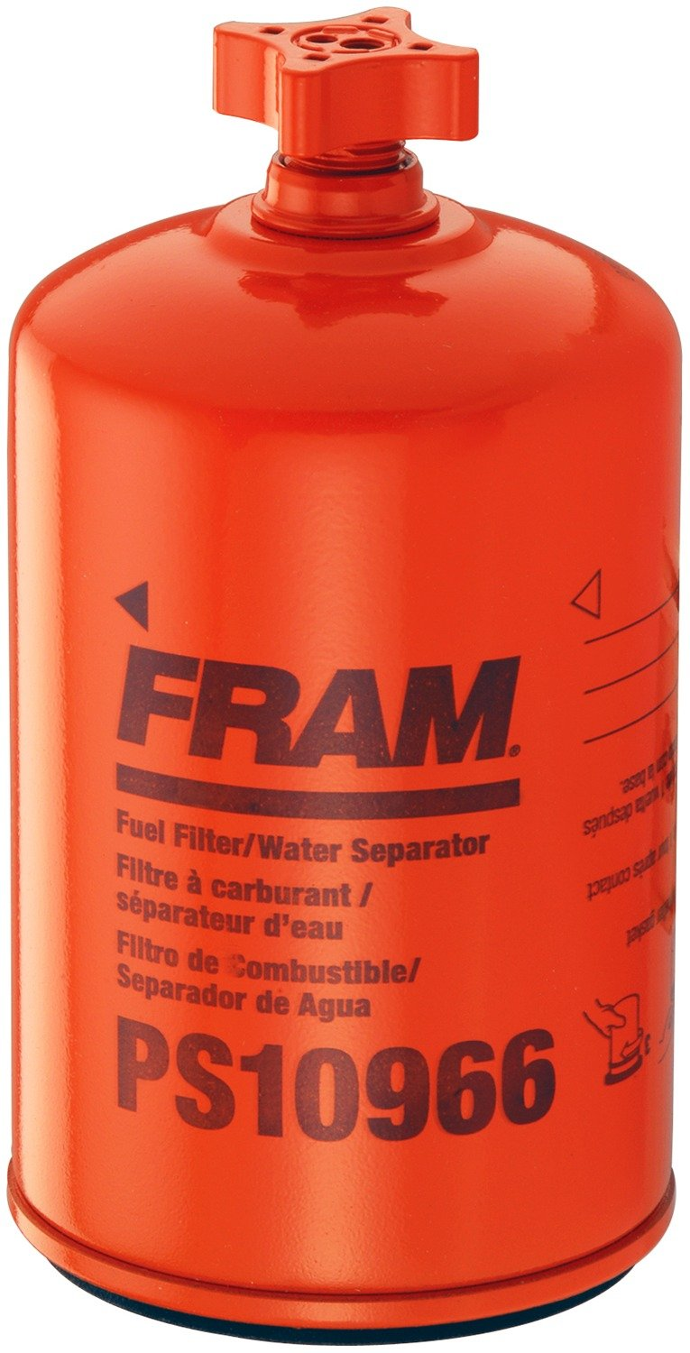 FRAM PS10966 Heavy Duty Spin-On Fuel and Water Seperator Filter with Drain
