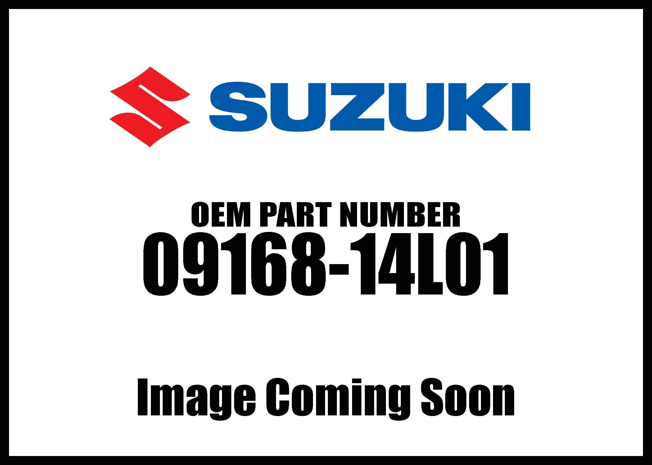 Suzuki Gasket13 8X18 09168-14L01 New Oem