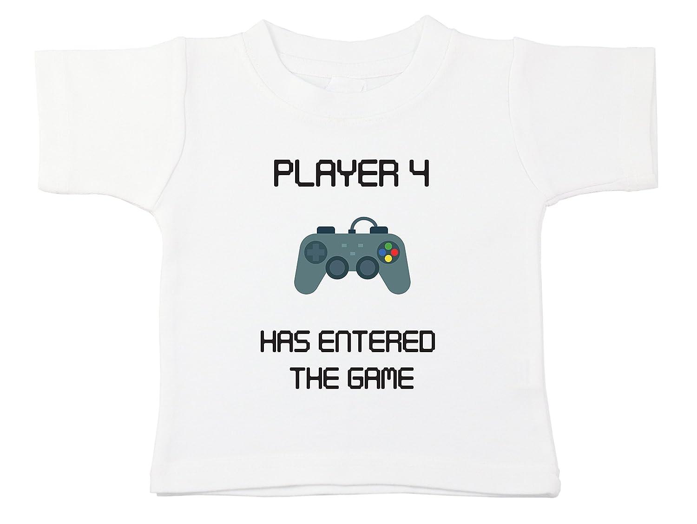【オープニング大セール】 Starlight Baby B0714GF543 Player 4 the has has entered the game tee、100 %コットンシャツ 6 - 12 Months B0714GF543, 【超歓迎された】:d6e9d360 --- a0267596.xsph.ru