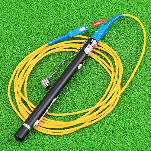 Herramientas de fibra /óptica FTTH 20MW comprobador de cables de fibra /óptica localizador Visual de fallos de mano Mini para CATV