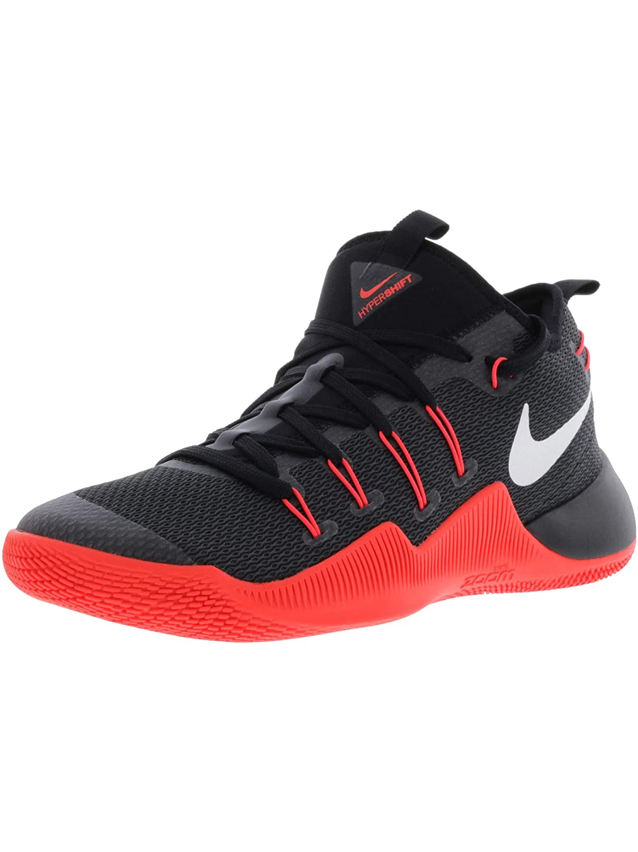 Nike Nike Hypershift - Hausschuhe de Baloncesto de Material Sintético para Hombre schwarz schwarz rot Weiß
