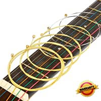 Acoustic Guitar Strings Set 2 Pack Light (012-053) Ideal for beginners and performers