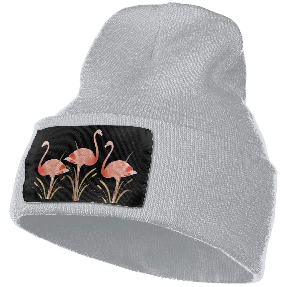 Flamingos Warm Winter Hat Knit Beanie Skull Cap Cuff Beanie Hat Winter Hats for Men /& Women