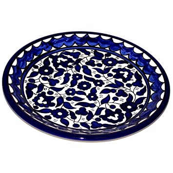 Armenian Ceramic Decorative Dinner or Display Plate - 10.5 Inches - Asfour Outlet Trademark  sc 1 st  Amazon.com & Amazon.com | Armenian Ceramic Decorative Dinner or Display Plate ...