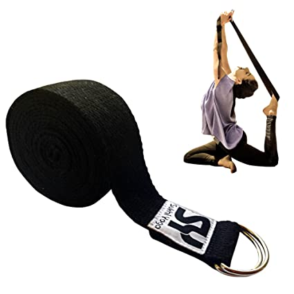 Sukhi Yoga Super Soft Strap With D Ring Perfect For Stretching Holding