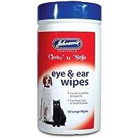Johnsons – Productos Veterinarios 19 0205 oído y ojo toallitas