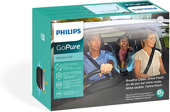 Amazon.es: Philips GPSL23GPX1 GoPure Slimline 230 Purificador de ...