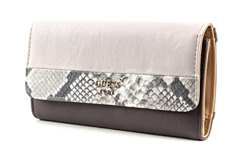 Guess Cate Slg multi clutch taupe multicolor: Amazon.es ...