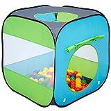 Tente de Jeu pour enfants Arielle colorée légere | idéal pour jouer à l'intérieur et à l'extérieur da la maison | incl pratique étui pour le garder / transporter | Maisonnette de Jardin
