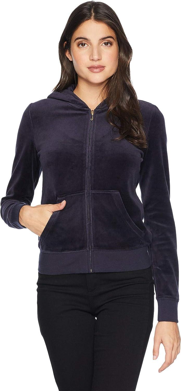 b0d23e69 Amazon.com: Juicy Couture Womens Track Velour Collegiate Juicy Robertson  Jacket: Clothing