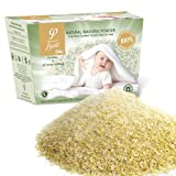 Washing Powder For Newborn / Baby Clothes – Produced From 100% Pure & Natural Grated Olive Oil Soaps Enriched With Chlorophyll, Chamomile Extract, Lavender & Calendula. Suitable for Washing Machines and Washing by Hand - Ideal For The Whole Family, In Particular For People With Skin Problems and Allergies - Buy 2 & get FREE DELIVERY
